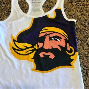 ECU Pirates Nike Workout Tank Top